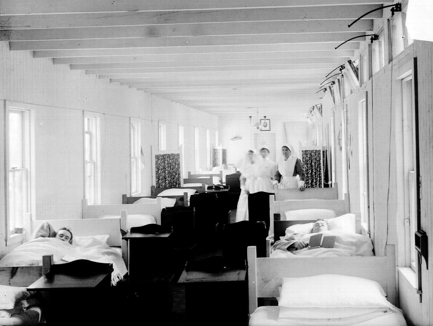Salle de réadaptation – camp Jensen